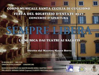 La musica dai teatri ai salotti – 23 giugno 2017